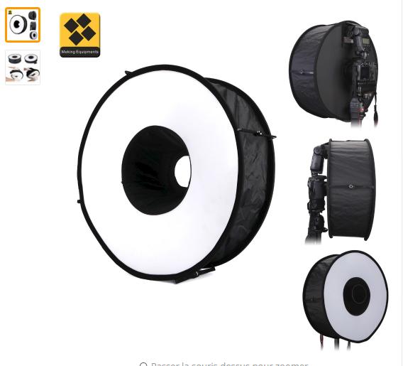 2017-03-21 19_45_14-Anneau Softbox Pour SpeedLite Flash lumière 45 cm Pliable Diffuseur Macro Tourna.png